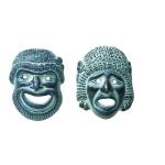 Κεραμικές μάσκες μικρές (Σετ) - MD202