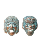 Κεραμικές μάσκες μικρές (Σετ) - MD203