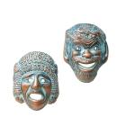 Κεραμικές μάσκες μεγάλες (Σετ) - MD303